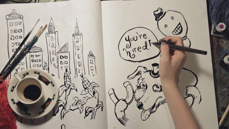 Drawing on Introverts: Susan Cain Gets the Live Illustration Treatment [VIDEO]
